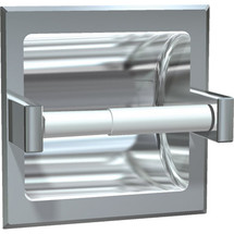ASI (10-7402-HBD) Recessed Single Toilet Paper Holder with Hood-Bright, For Dry Wall Installation