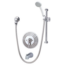 **Symmons (C-96-400-B30-V-X)  Temptrol Commercial Tub/Hand Shower System