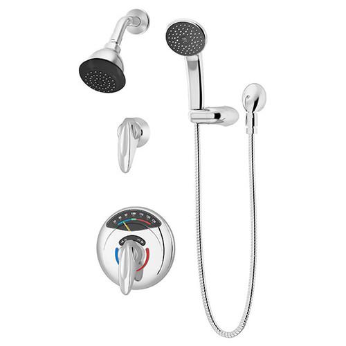 **Symmons (1-1170VT-H401-V) Visu-Temp Shower/Hand Shower System