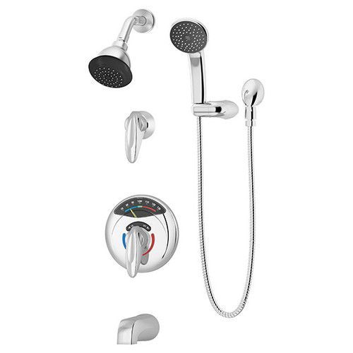 **Symmons (1-3170VT-H401-V) Visu-Temp Tub/Shower/Hand Shower System