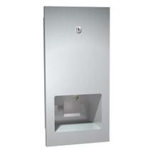 ASI (10-5002) Recessed Mounted Disposable Cartridge Soap Dispenser