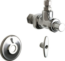 Chicago Faucets (1023-ABCP)  Angle Stop Fitting with Loose Key