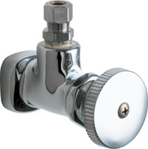Chicago Faucets (1014-ABCP)  Angle Stop Fitting