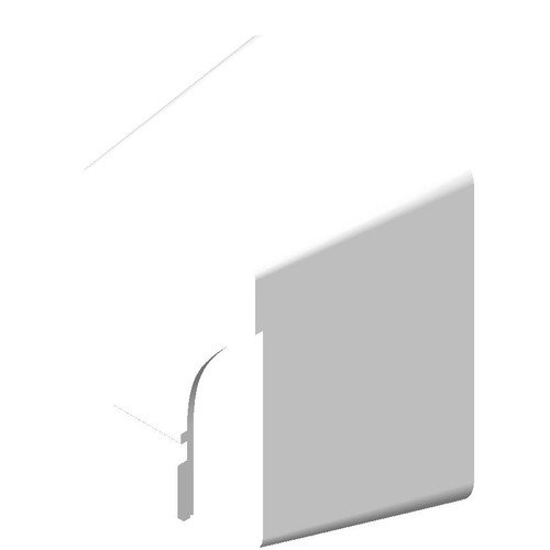 """ASI (10-0144) """"No Touch"""" Dryer (208-240v.) - Surface Mounted - White"""