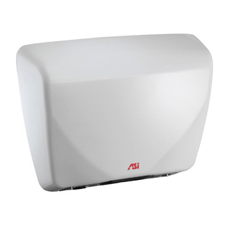 ASI (10-0195) Roval Cast Iron Hand Dryer - White