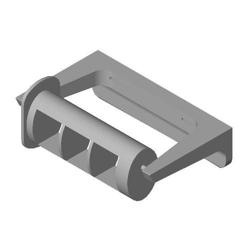 ASI (10-0263-1A) Single Roll Toilet Tissue Dispenser