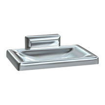 ASI (10-0721-Z) Soap Dish - Surface Mounted, Chrome Plated Zamak