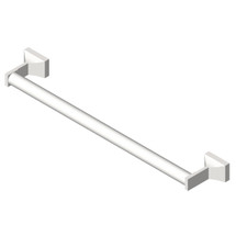 "ASI (10-0755-Z24) Towel Bar (Round) 24"", Surface Mounted, Chrome Plated Zamak"