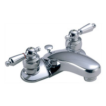 Symmons (S-240-1-LAM-1.5) Symmetrix Two Handle Centerset Lavatory Faucet
