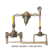 **Symmons (7-200-102-PRV) TempControl Hi-Low Thermostatic Mixing Valve and Piping System