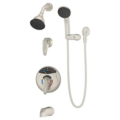 Symmons (1-3170VT-H401-V-STN) Visu-Temp Tub/Shower/Hand Shower System