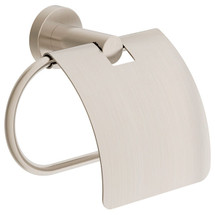 Symmons (353TPC-STN) Dia Toilet Paper Holder with Cover