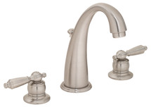 **Symmons (S-243-2-LAM-1.5-STN) Origins Two Handle Widespread Lavatory Faucet