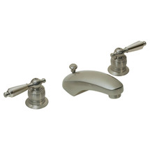 **Symmons (S-244-2-LAM-1.5-STN) Origins Two Handle Widespread Lavatory Faucet