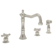 **Symmons (S-2650-2-STN) Carrington Two Handle Kitchen Faucet