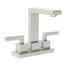 **Symmons (SLC-3612-1.5-STN) Duro Two Handle Centerset Lavatory Faucet