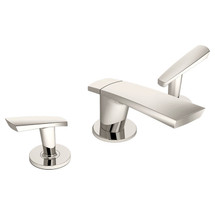 **Symmons (SLW-4112-1.5-PNL)  Naru Two Handle Widespread Lavatory Faucet