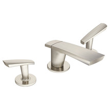 **Symmons (SLW-4112-1.5-STN)  Naru Two Handle Widespread Lavatory Faucet