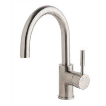 **Symmons (SPB-3510-1.5-STN) Dia Single Handle Bar Sink Faucet