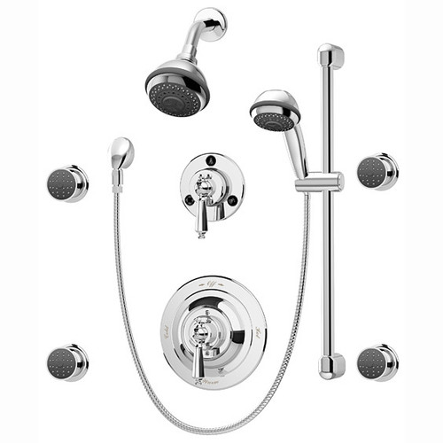 **Symmons (1-7470-X) Water Dance Shower/Hand Shower System