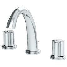 **Symmons (SLW-0600-12-1.0-TRM) Extended Selection Two Handle Widespread Lavatory Faucet