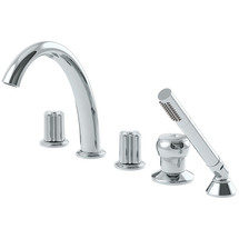 **Symmons (SRT-0600-72-TRM) Extended Selection Two Handle Roman Tub Faucet