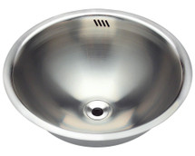 Polaris P024 Stainless Steel Bathroom Sink