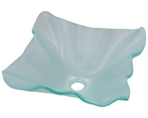 Polaris P116 Frosted Glass Vessel Sink