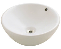 Polaris P0022VB Porcelain Vessel Sink