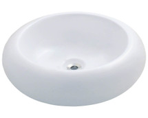 Polaris P021VW Porcelain Vessel Sink