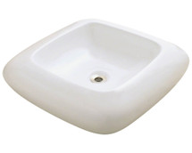 Polaris P001VB Pillow Top Porcelain Vessel Sink
