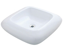 Polaris P001VW Porcelain Vessel Sink