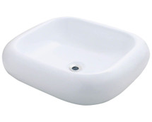 Polaris P011VW Porcelain Vessel Sink