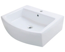Polaris P003VW Porcelain Vessel Sink