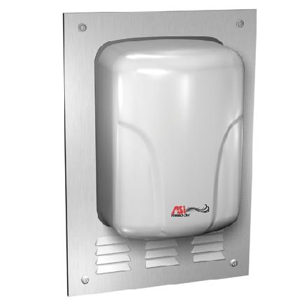 ASI (10-0119) TURBO-Dri, Semi Recess Kit for ADA Compliance