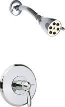 Chicago Faucets (1907-TK600CP) Tub and Shower Trim Kit with Shower Head