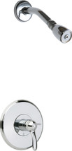 Chicago Faucets (1907-TKCP) Tub and Shower Trim Kit with Shower Head
