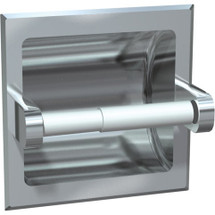 ASI (10-0402-Z) Recessed Toilet Papper Holder Chrome Plated Zamak, Wet Wall Installation