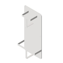 ASI (10-0556) Surface Mounted Bedpan and Urinal Rack