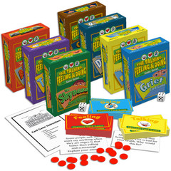 The Talking, Feeling & Doing Card Games Set of 7