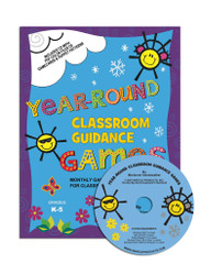 Year-Round Classroom Guidance Games with CD