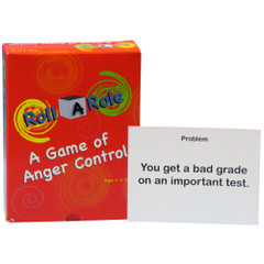 Roll-A-Role: Anger Control Game Cards