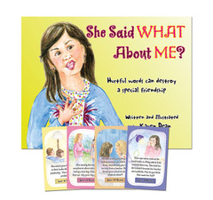 She Said WHAT About ME? Book & Card Game