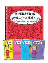 Operation Breaking the Girl Code Book & Card Game