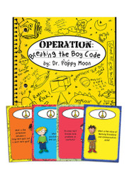 Operation Breaking the Boy Code Book & Card Game