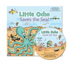 Little Ocho Saves the Sea! with Activity/Ideas CD