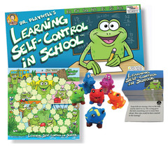 Dr. Playwell's Learning Self Control in School Board Game