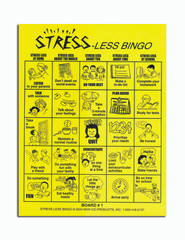 Stress-Less Bingo