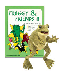 Froggy & Friends II with Frog Puppet