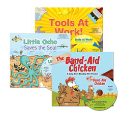 Marco Storybook 3-Pack with Activity/Ideas CDs